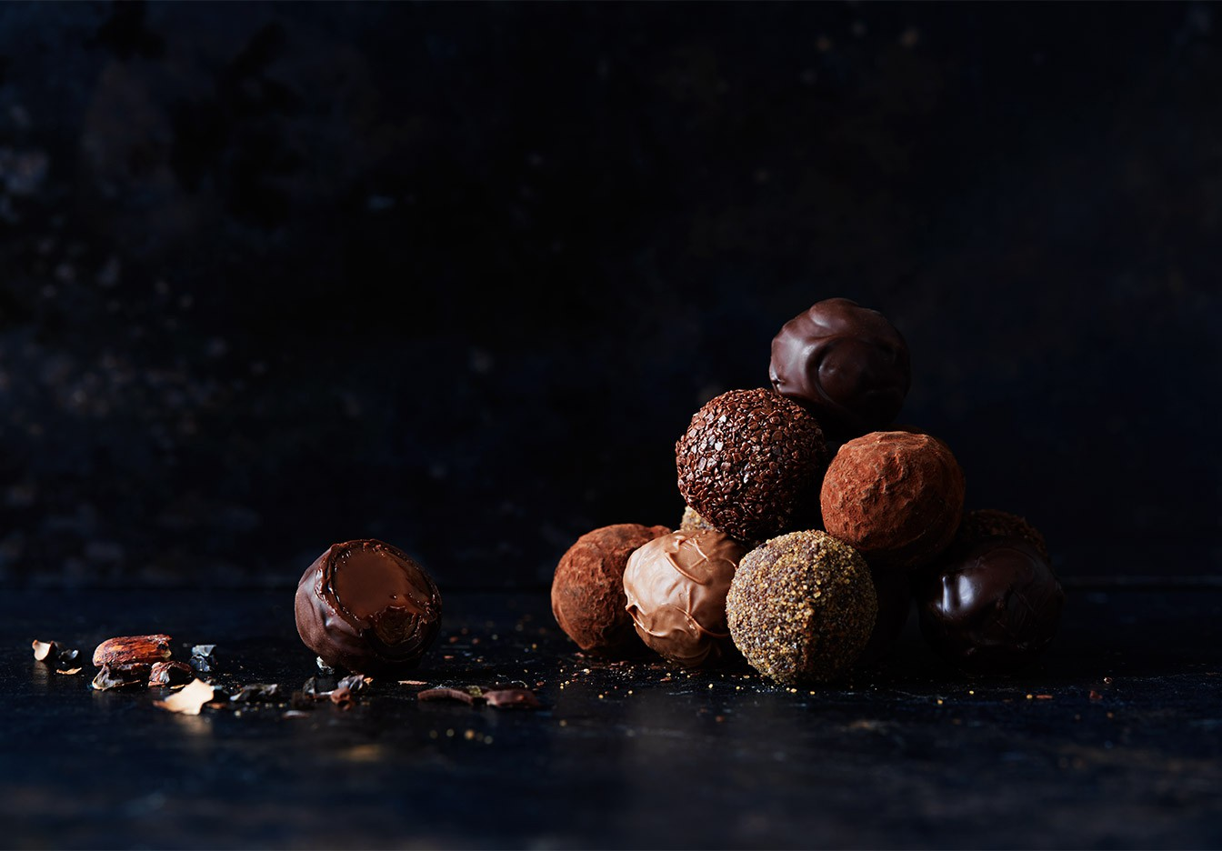 chokladmoussetårta utan mandelmassa