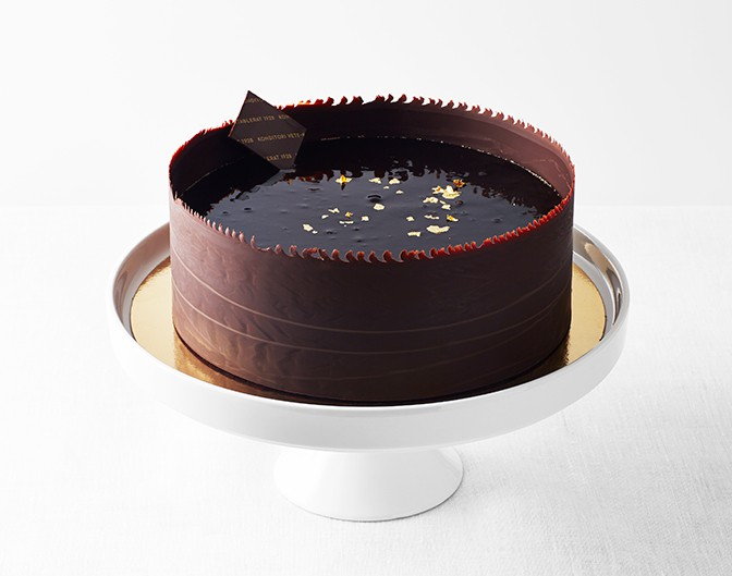 prinsesstårta med chokladbotten